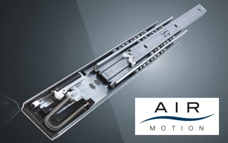 AIR MOTION smooth-action sliding systems
